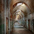 Jail - Eastern State Penitentiary - Endless torment by Mike  Savad