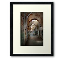 Jail - Eastern State Penitentiary - Endless torment Framed Print