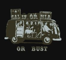 California Or Bust! Kids Clothes
