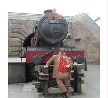 Hogwarts Express Conductor by racheliza