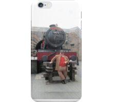 Hogwarts Express Conductor iPhone Case/Skin