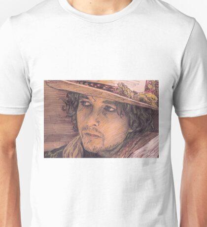 BOB DYLAN PORTRAIT Unisex T-Shirt