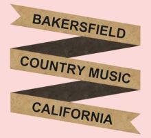 Wonderful Bakersfield Country California  One Piece - Long Sleeve