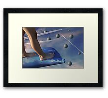 Dusk on Planet Euphoria Framed Print