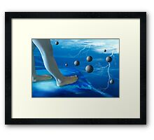 Dark Side of Planet Euphoria Framed Print