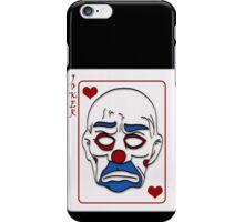Joker Calling Card - Hand Drawn iPhone Case/Skin