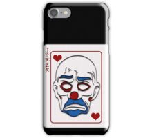 Joker Calling Card - Hand Drawn iPhone Case/Skin