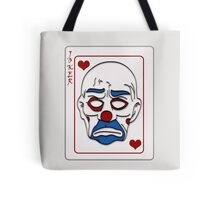 Joker Calling Card - Hand Drawn Tote Bag