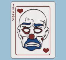 Joker Calling Card - Hand Drawn One Piece - Short Sleeve