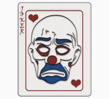 Joker Calling Card - Hand Drawn One Piece - Short Sleeve