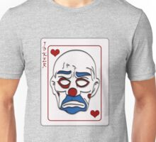 Joker Calling Card - Hand Drawn Unisex T-Shirt