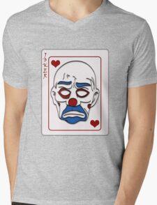 Joker Calling Card - Hand Drawn Mens V-Neck T-Shirt
