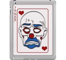 Joker Calling Card - Hand Drawn iPad Case/Skin