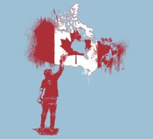 Canada Tagger Baby Tee