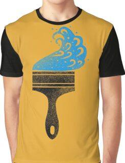 paintbrush Graphic T-Shirt