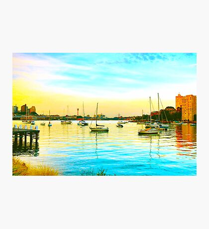 Lavender Bay The Other Day Photographic Print