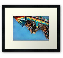 Carnival - Ride - The thrill of the carnival  Framed Print