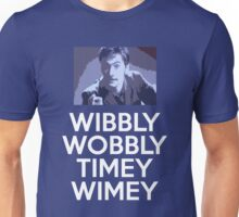 WIBBLY TENNANT Unisex T-Shirt