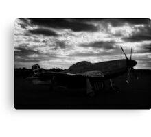 Mustang Dawn Canvas Print