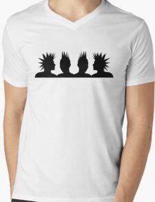 Punk Heads Mens V-Neck T-Shirt