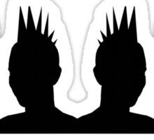 Punk Heads Sticker