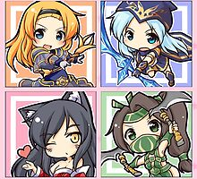 League of Legends Chibis by LexyLady