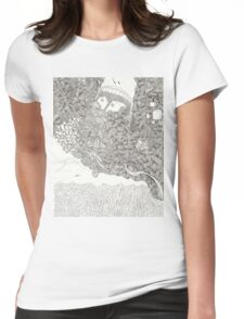 Missed The Boat IV Womens Fitted T-Shirt