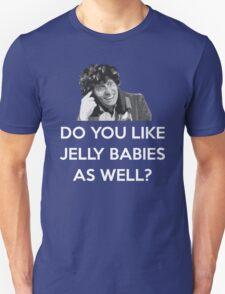 TOM BAKER JELLY BABIES Unisex T-Shirt