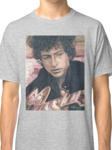 BOB DYLAN PORTRAIT IN INK Classic T-Shirt