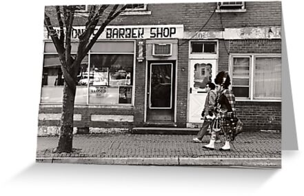 Music - Bag piper - Somerville, NJ -  The Scottsman by Mike  Savad