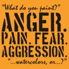 Spaced   Anger. Pain. Fear. Aggression. by Michael Audet