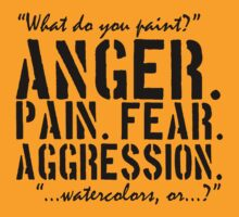 Spaced | Anger. Pain. Fear. Aggression. by Michael Audet