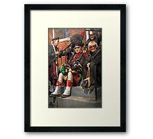Music - Bag Pipes - Somerville, NJ - Piper resting Framed Print