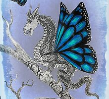 Butterfly Dragon by Maddy Storm