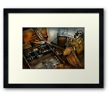 Army - Combat ready Framed Print