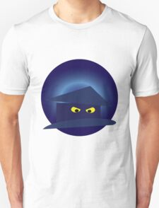 Scary House  Silver MoonT Shirt Unisex T-Shirt