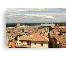 Arles on the Rhone - Provence Canvas Print