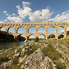 Pont du Gard - Provence  by Mandy Gwan