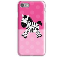Sweet Cute Zebra Pink Dot Phone Case iPhone Case/Skin