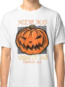 Skeleton Jack's Halloween Town Pumpkin Ale Classic T-Shirt
