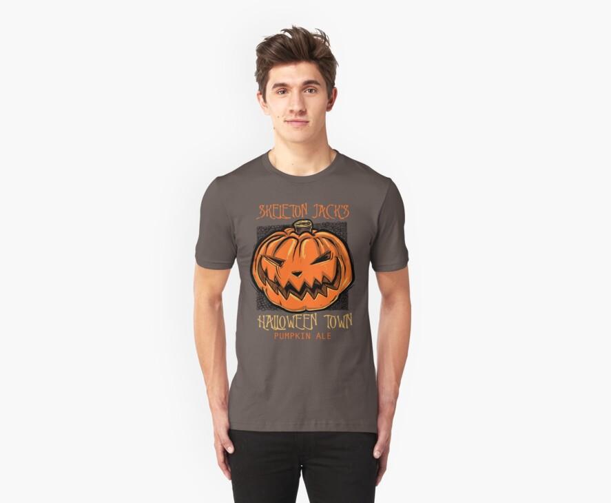 Skeleton Jack's Halloween Town Pumpkin Ale by odysseyroc