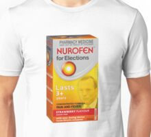Nurofen for Elections Unisex T-Shirt