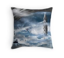 Come Up Higher Throw Pillow