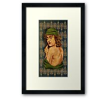 Playing a Part Framed Print