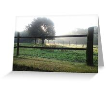 Nature landscape Greeting Card