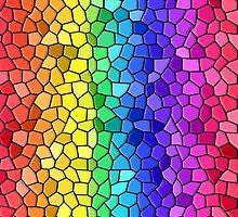 Tiled Rainbow by RickLionheart