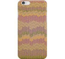 Sketchy Knit in Neutral Jewels iPhone Case/Skin