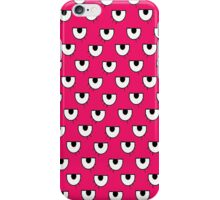 pink eyes iPhone Case/Skin