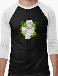 Spunky Dragon Men's Baseball ¾ T-Shirt