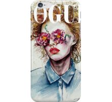 vogue cover iPhone Case/Skin